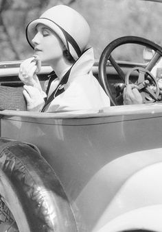 Norma Shearer on the set of The Last of Mrs. Cheyney (1929)