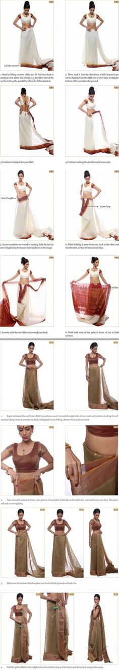 How To Wear Saree Style Ties 65 Trendy Ideas #howtowear