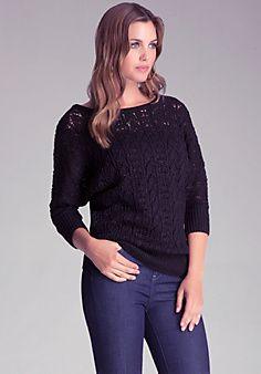 Dolman Knit Sweater from bebe