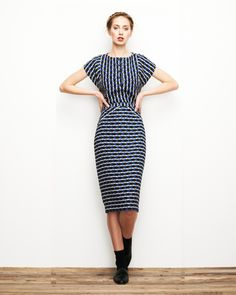 Blue Arrow Skirt – Lauren Moffatt