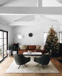 25 best living room decoration for modern house interior design 18 Mid Century Modern Living Room, Living Room Modern, Cozy Living, Small Living, Living Area, Interior Design Living Room, Living Room Designs, Modern Interior, Design Interior