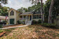Bright and updated home FOR SALE close to the beach in Savannah, Georgia. 3Beds/2Baths - 1,146sf - $189,900 - This charming home features a huge fenced in back yard, a large porch off the kitchen, as well as a front porch, and is absolutely move in ready! Contact Casey Anderson today!
