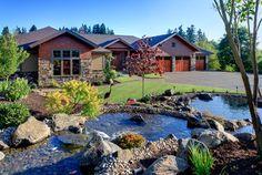 M Brenden - traditional - landscape - portland - Kaufman Homes, Inc.