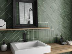 Por estancia | Galería de imágenes | Nais Terrazzo, Interior Walls, Bathroom Interior Design, Bleu Pastel, Wall Finishes, Ceramic Wall Tiles, Malachite, Living Spaces, Sink