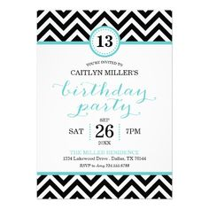 13 Year Old Birthday Party Invitations Gallery Invitation