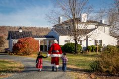 Historic Riverview on the James (location for Santa House Call). by LuAnn Hunt Photography