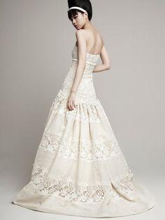 Vestidos tejidos para novia