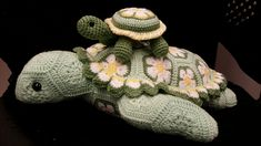 Ravelry: CindyEggleston's Daisy Turtle and Baby Buttercup
