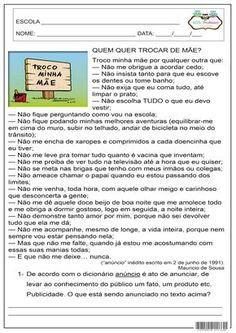 SOS PROFESSOR-ATIVIDADES: Produção de texto