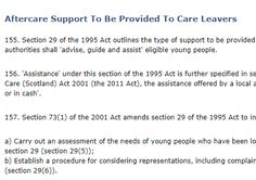 Aftercare Support To Be Provided To Care Leavers