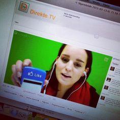 Kristine på Sosial Direkte snakker om Facebooks nye endring- hva betyr dette for bedirfter #direktetv #facebook #sosialemedier