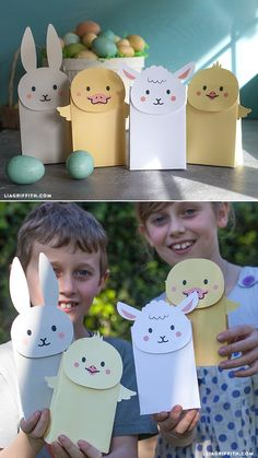 #EasterGoodieBags #DIYEaster #EasterCraft at www.LiaGriffith.com