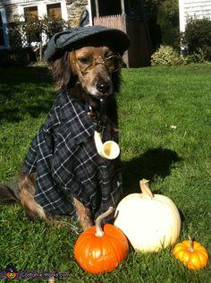 Sherlock Bones - Halloween Costume Contest via @costume_works