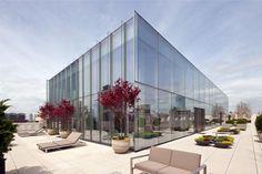 The dazzling Skyloft Penthouse in Tribeca by James Carpenter Design Associates