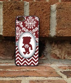 Mississippi state - Personalized iPhone Case  iPhone 4 iPhone 4s iPhone by studio2812, $15.95