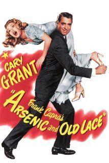 Arsenic and Old Lace (1944) Poster A drama critic learns on his wedding day that his beloved maiden aunts are homicidal maniacs, and that insanity runs in his family. Dir: Frank Capra With: Cary Grant, Priscilla Lane, Raymond Massey
