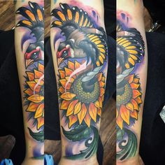 "152 Likes, 5 Comments - Justin Nudell (@krunchy83) on Instagram: ""Got this European gold finch and sunflower finished.. thanks Kristen! #thanksforlooking…"""