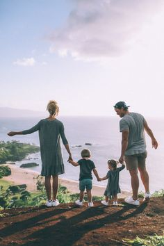 "Taking a Break from ""No"" - Barefoot Blonde by Amber Fillerup Clark - Family wearing DSW shoes"