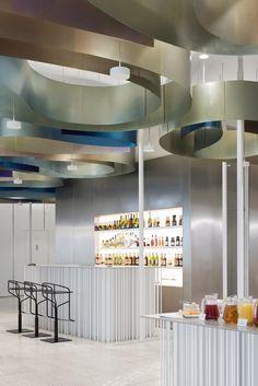 WATERCOLOR lounge | Nefa Architects #terrazzo
