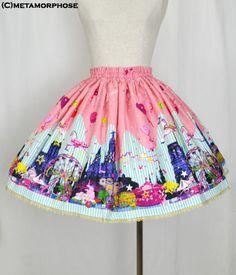 metamorphose temps de fille night carnival ミニスカート