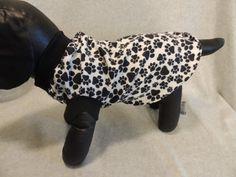 Medium Dog T Shirt  Paw Prints by favorite4paws on Etsy, $12.00
