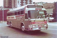 Queen City Trailways 35501 | continentaltrailways | Flickr Transportation Technology, Bus Coach, Old Florida, Busses, Coaches, Motorhome, Cool Cars, Chevy, Eagle