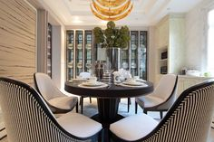 Interior design by W Design Hong Kong Inspire Me Home Decor, Luxury Dining Room, Dining Room Design, Dining Rooms, Room Interior Design, Furniture Design, Bedroom Styles, Living Room Bedroom, Decoration