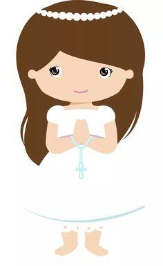 Svg Cutting Files First Communion Pretty Dress Gift Box