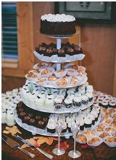My kind of wedding cake. Brandon Chesbro photo.