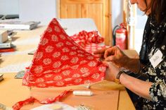 Advanced lampshade making course with Cocoon Home