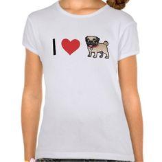 Pug Cartoon, Dog Art, Small Dogs, Pugs, Lovers, Puppies, Mens Tops, T Shirt, Gifts