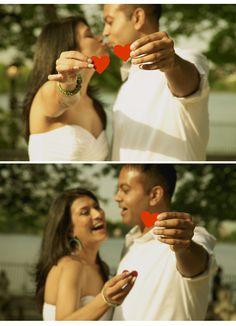 Two Hearts Wedding Photo