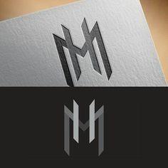 MH monogram logo For sale! Unused