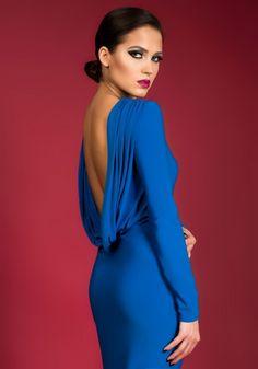 Rochie Come back blue sky Shoulder Dress, One Shoulder, Comebacks, Elegant, Formal Dresses, Blue, Sky, Collection, Design