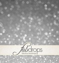 Photography Bokeh Backdrop Silver For & Portrait And by FabDrops