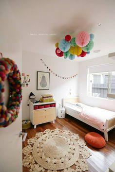 Kids room - Round rug - Via Les Loupiots
