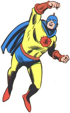 Image result for golden age atom superhero