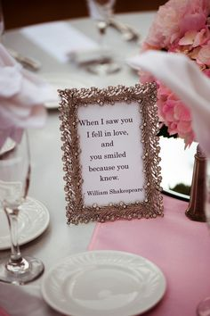 Wedding quote sign ideas: When I saw you I fell in love, and you smiled because you knew Love Quotes For Wedding, Wedding Quote, Great Gatsby Wedding, I Fall In Love, Falling In Love, Smile Because, Hotel Wedding, Sign Quotes, Your Smile