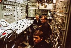 Maneuvering Room USS Sturgeon (SSN-637)