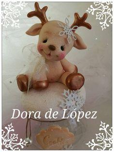 reno porcelana fria navidad de Dora de Lopez en FB.jpg (720×960)