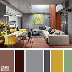 paletas de cores para decoração de interiores - Pesquisa Google