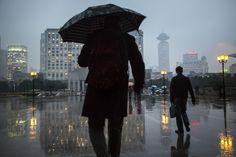 Shanghai #shangai #rain #photography #street #day #rain #people #metropolis