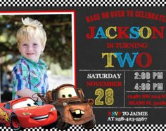 My sons first birthday theme Disney Cars 1st Birthday Party