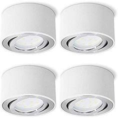 LED Deckenleuchte Deckenlampe 12W Deckenbeleuchtung Deckenstrahler Warmweiß A++