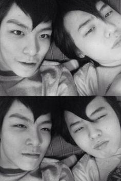 TOP (Choi Seung Hyun) and GD♡ #Kpop #BigBang #Kdrama