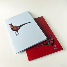 Our A5 Pheasant notebooks have 36 unlined recycled pages and come in packs of two (one of each design). Available to buy on our website