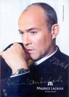 Heiner Lauterbach – Original signierte Autogrammkarte des bekannten deutschen Schauspielers. www.starcollector.de