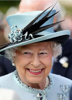 Queen Elizabeth, June 15, 2015 in Angela Kelly   Royal Hats