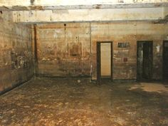 Magazine A - Concrete block room additions inside the missile magazine for the Army radio relay station era.