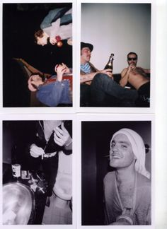 Dash Snow polaroid.
